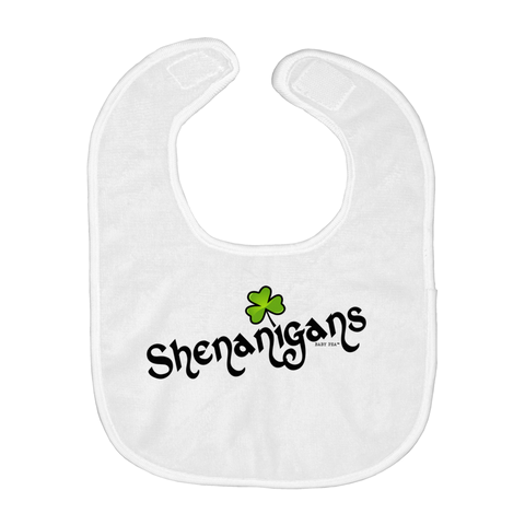 Shenanigans | Baby Bibs | 3 Styles - Baby Pea Clothing Fashion for Babies & Kids of all ages