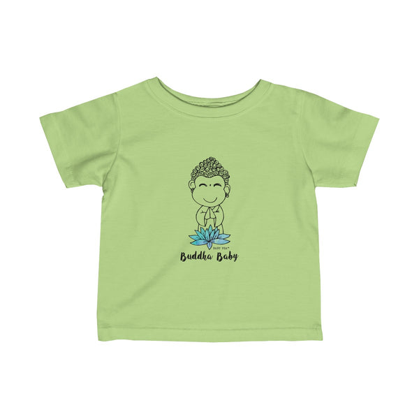 Buddha Baby | Infant Fine Jersey Tee | 12 Colors - Baby Pea Clothing Fashion for Babies & Kids of all ages