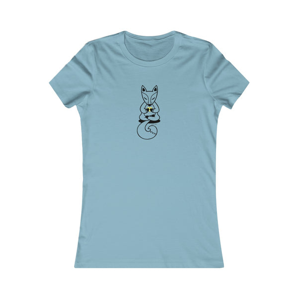 Boho Baby Yoga Fox | Women's Favorite Tee | 14 Colors - Baby Pea Clothing Fashion for Babies & Kids of all ages