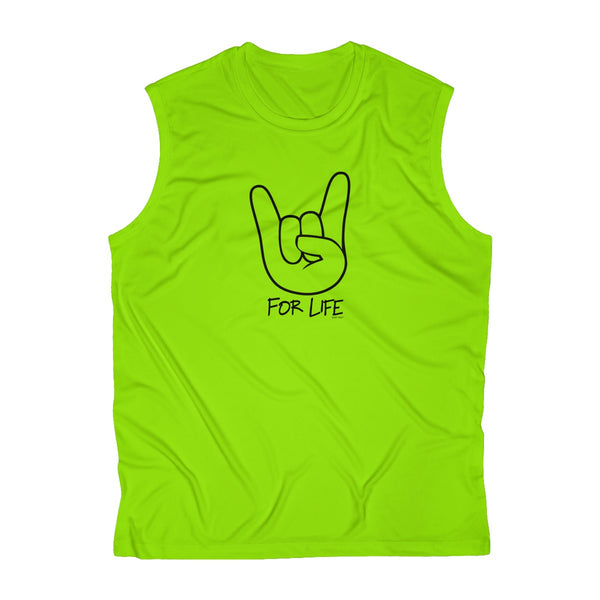 Rocker for Life | Men's Sleeveless Performance Tank Top | 6 Colors | Men's - Baby Pea Clothing Fashion for Babies & Kids of all ages