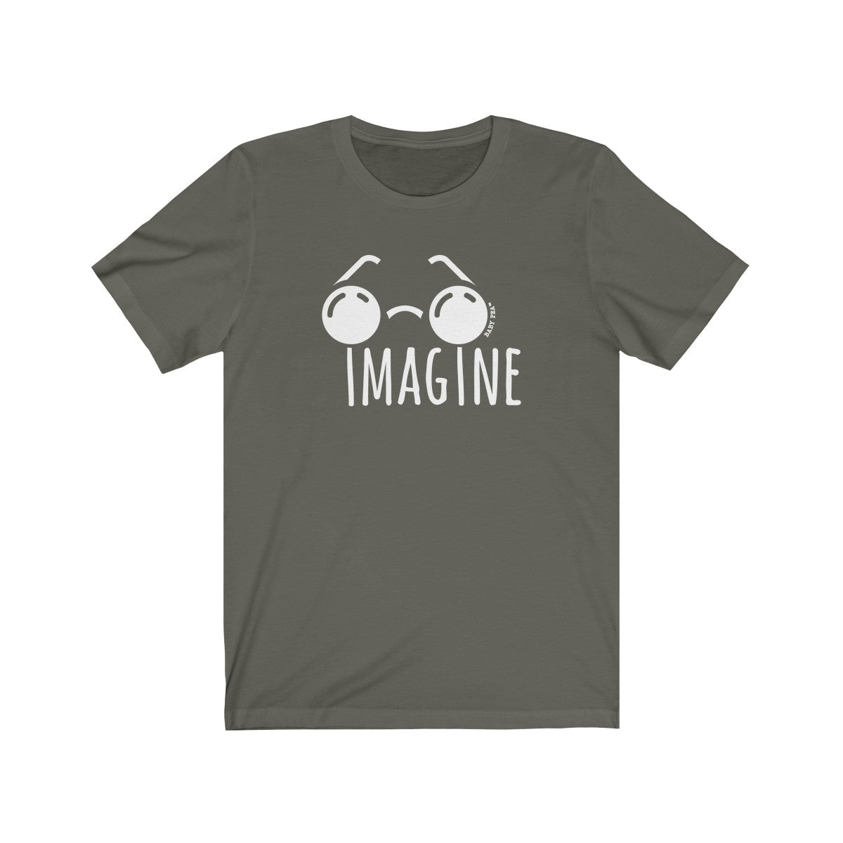 Imagine | Unisex Jersey Short Sleeve Tee | 14 Colors - Baby Pea Clothing Fashion for Babies & Kids of all ages