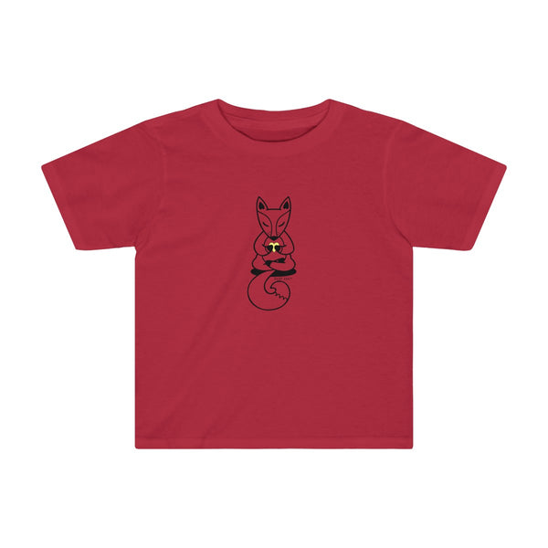 Boho Baby Yoga Fox | Toddler Soft Cotton Tee | 11 Colors | Toddler - Baby Pea Clothing Fashion for Babies & Kids of all ages