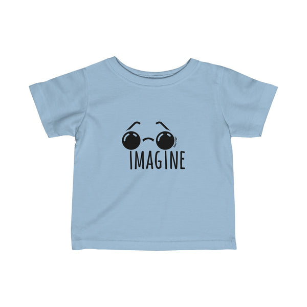 Imagine | Infant Fine Jersey Tee | 15 Colors - Baby Pea Clothing Fashion for Babies & Kids of all ages