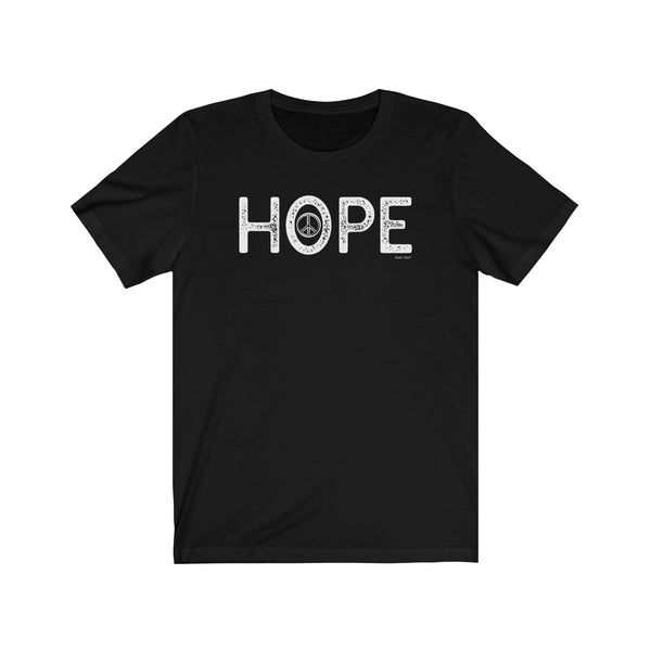 Hope | Unisex Jersey Short Sleeve Tee | 14 Colors - Baby Pea Clothing Fashion for Babies & Kids of all ages