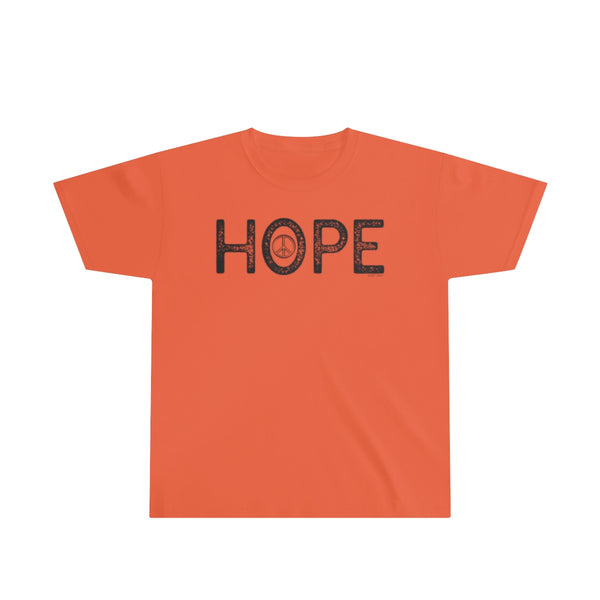Hope | Youth Ultra Cotton Tee | 13 Colors - Baby Pea Clothing Fashion for Babies & Kids of all ages