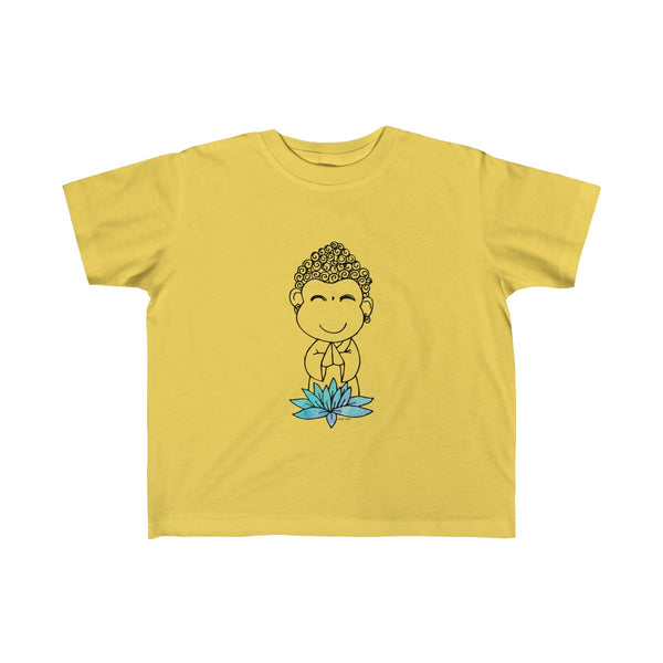 Buddha Baby | Toddler Kid's Jersey T-Shirt | 14 Colors | Unisex - Baby Pea Clothing Fashion for Babies & Kids of all ages