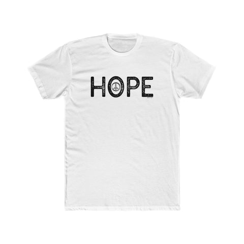 Hope | Men's Cotton Crew Tee | 13 Colors - Baby Pea Clothing Fashion for Babies & Kids of all ages