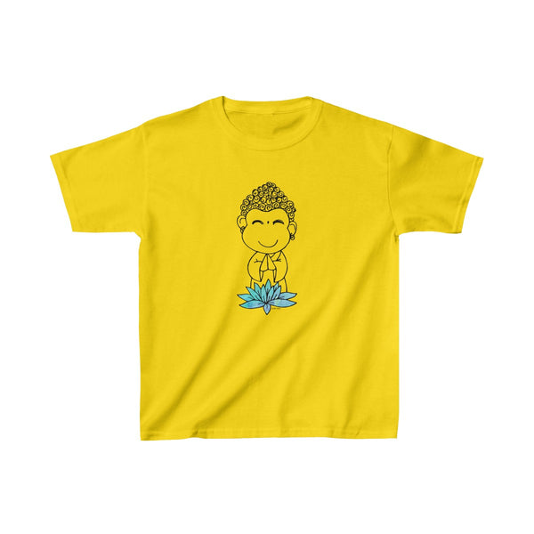 Buddha Baby | Youth Heavy Cotton T-Shirt | 19 Colors | Unisex - Baby Pea Clothing Fashion for Babies & Kids of all ages