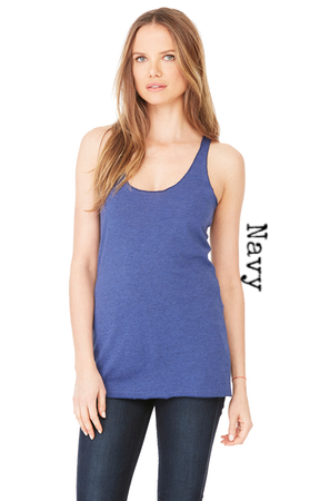 Namaste in Bed Today | Women's Tri-Blend Racerback Tank | 5 Colors | Women's - Baby Pea Clothing Fashion for Babies & Kids of all ages