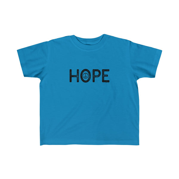 Hope | Toddler Fine Jersey Tee | 14 Colors - Baby Pea Clothing Fashion for Babies & Kids of all ages