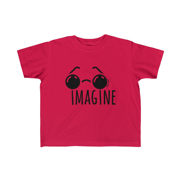 Imagine | Toddler Fine Jersey Tee | 14 Colors - Baby Pea Clothing Fashion for Babies & Kids of all ages