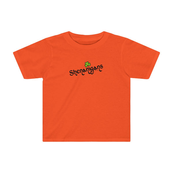 Shenanigans | Toddler Cotton T-Shirt | 11 Colors | Toddler - Baby Pea Clothing Fashion for Babies & Kids of all ages