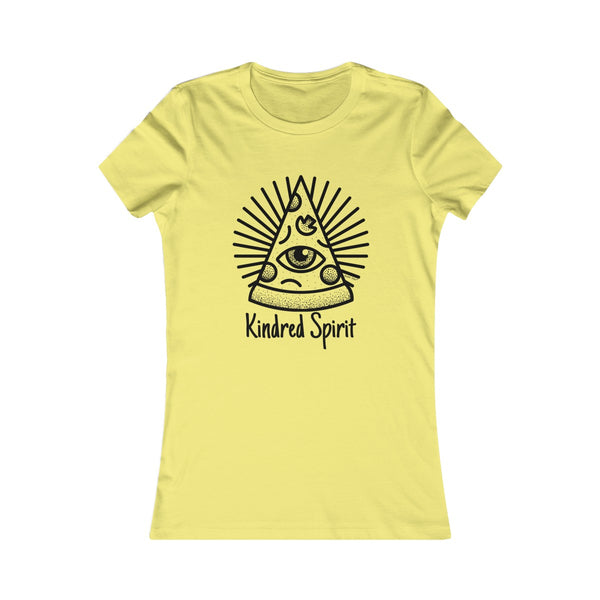 Kindred Spirit Pizza | Women's Favorite Tee | 20 Colors - Baby Pea Clothing Fashion for Babies & Kids of all ages