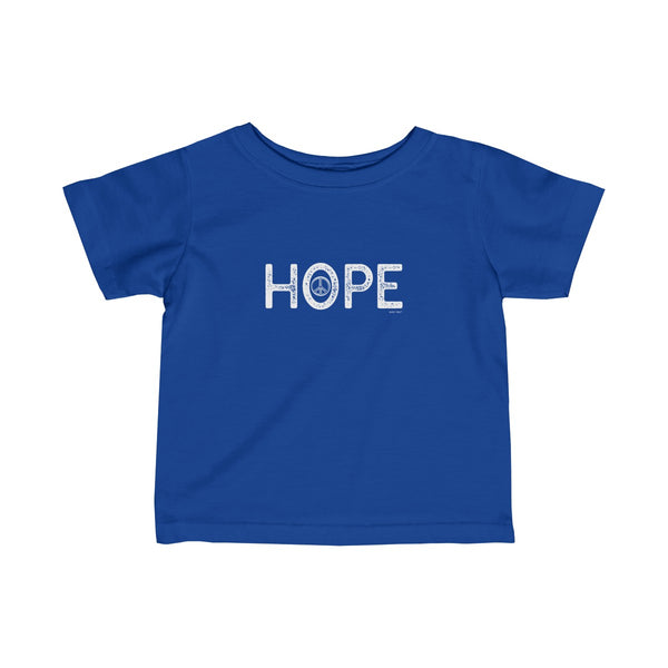 Hope | Infant Fine Jersey Tee | 12 Colors - Baby Pea Clothing Fashion for Babies & Kids of all ages