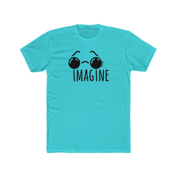 Imagine | Men's Cotton Crew Tee | 13 Colors - Baby Pea Clothing Fashion for Babies & Kids of all ages