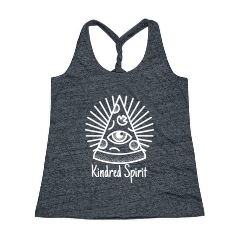 Kindred Spirit | Women's Cosmic Twist Back Tank Top | 3 Colors - Baby Pea Clothing Fashion for Babies & Kids of all ages