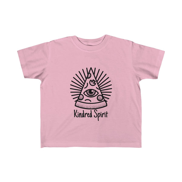 Kindred Spirit Pizza | Toddler Fine Jersey Tee | 14 Colors - Baby Pea Clothing Fashion for Babies & Kids of all ages