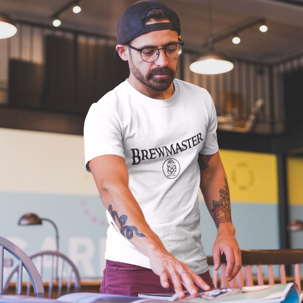 Brewmaster | Men's T-Shirt | 14 Colors - Baby Pea Clothing Fashion for Babies & Kids of all ages