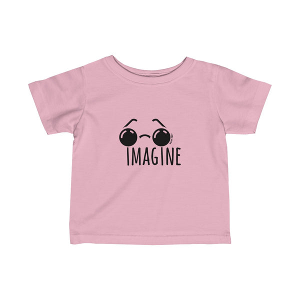 Imagine | Infant Fine Jersey Tee | 12 Colors - Baby Pea Clothing Fashion for Babies & Kids of all ages
