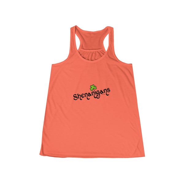 Shenanigan's | Women's Flowy Racerback Tank | 14 Colors | Women's - Baby Pea Clothing Fashion for Babies & Kids of all ages