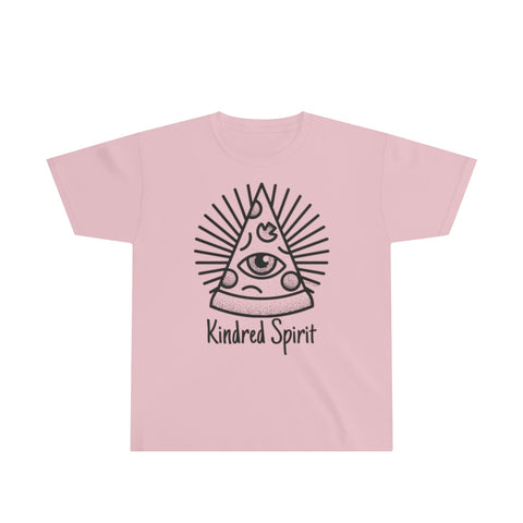 Kindred Spirit Pizza | Youth Ultra Cotton Tee | 13 Colors - Baby Pea Clothing Fashion for Babies & Kids of all ages