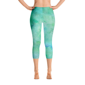 Tie Dye Capri Leggings | Women's - Baby Pea Clothing Fashion for Babies & Kids of all ages