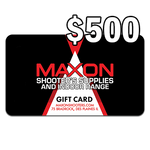 $500 In-store Gift Card