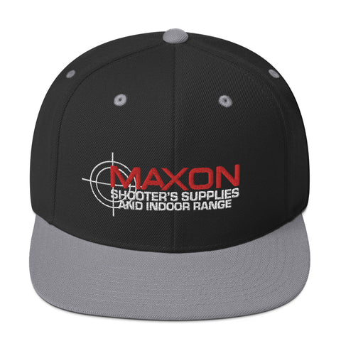 Maxon Shooters Embroidered Snapback Hat