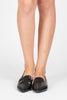 Maricela Pointy Loafer Flat - Black
