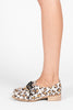 Lelaina Lace-up Oxford - Leopard
