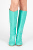 Anne Pull-on Tall Boot - Teal