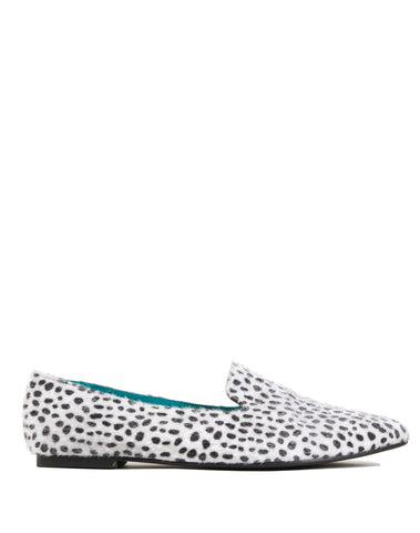 Maricela Pointy Loafer Flat - Spotted