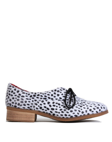 Lelaina Lace-up Oxford - Spotted