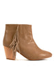 Native Fringe Bootie - Beige