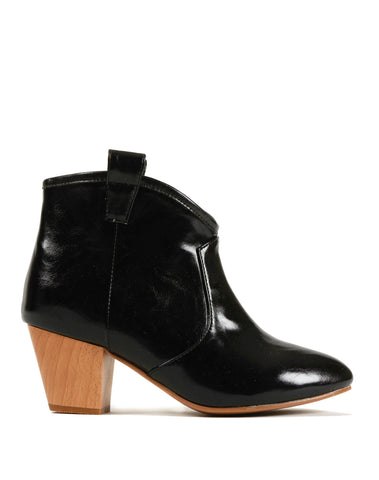 Ninette Pull-on Bootie - Black