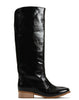 Anne Pull-on Tall Boot - Black