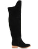 Rae Over-the-knee Flat Boot - Black