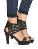 Emerson Studded Platform Sandal - Black - was $170