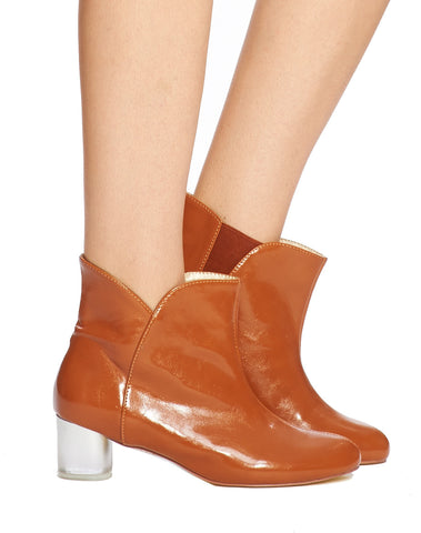 Arden Wohl x CDC Joon Slip-on Bootie - Brown