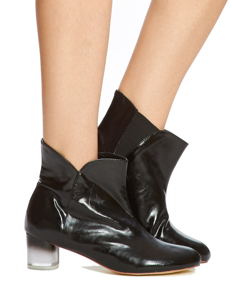 Arden Wohl x CDC Joon Slip-on Bootie - Black - was $350
