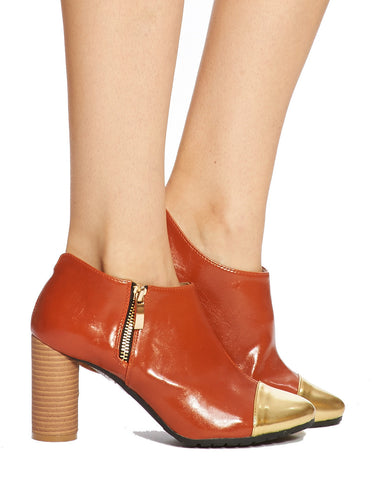 Ting Captoe Bootie - Tan - was $160