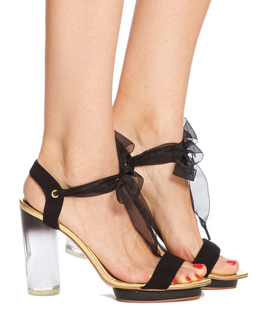 Arden Wohl x CDC Clio Sandal - Black - was $350