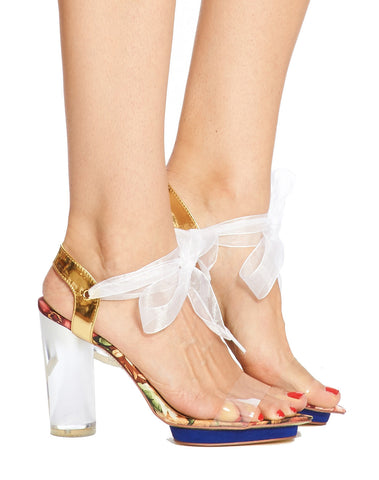 Arden Wohl x CDC Clio Sandal - Floral - was $350