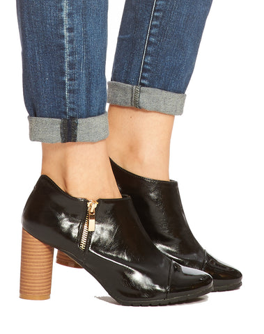 Ting Captoe Bootie - Black - was $160
