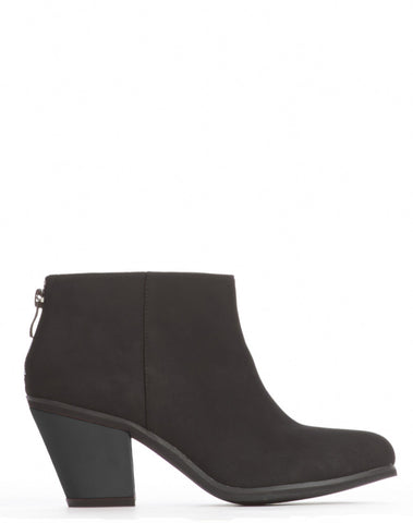 Adelaide Back Zip Bootie - Black