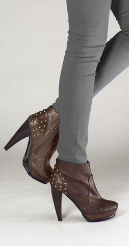 Antelope Removable-top Boot - Chocolate
