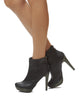 Joan Stiletto Bootie - Black - was $180