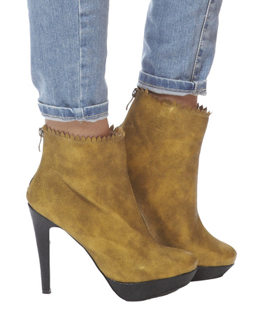 Joan Stiletto Bootie - Gold
