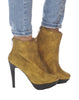 Joan Stiletto Bootie - Gold - was $180