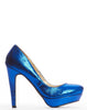 Margaret Platform Pump - Royal - was $150